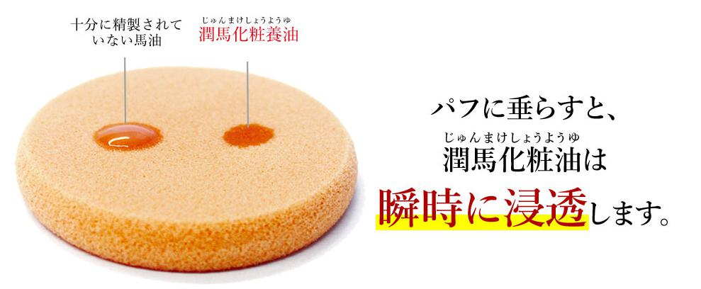 KUMAMOTO潤馬化粧養油(じゅんまけしょうようゆ) 浸透力が高い美容オイル